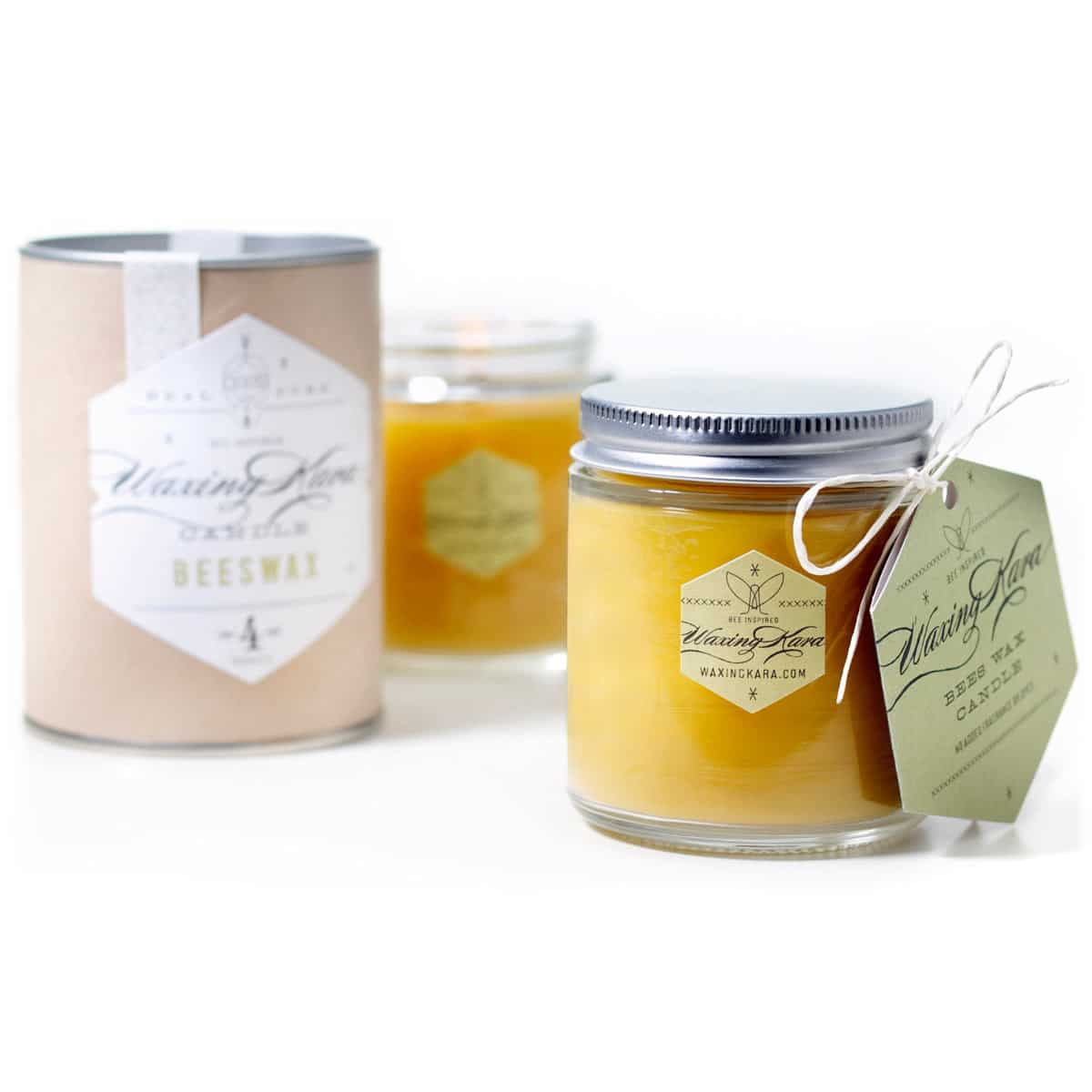 Mind your own beeswax'… beeswax candles, that is