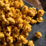 homemade caramel corn recipe made with honey