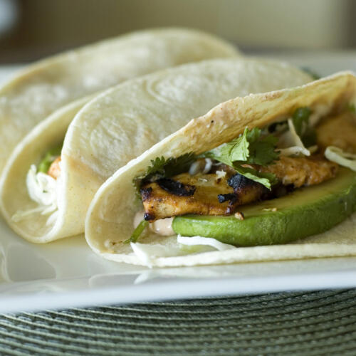 These Fish Tacos are the best.