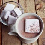 Lavender Marshmallows are a perfect complement to Mexican Hot Chocolate and dairy-free hot cocoa seems Comfort food? Not sure. Just yummy.