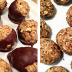 These raw peanut butter balls are a delicious and guilt-free treat. Keep them in an air-tight container in your freezer.