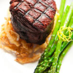 Filet with Red Wine Sauce