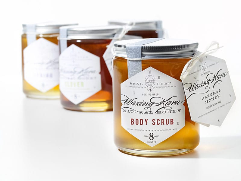 Waxing Kara Honey Body Scrub