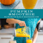 pumpkin smoothie tall pin