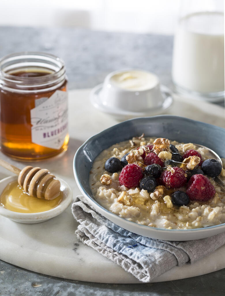 This Power Porridge recipe is a great way to start the day. Perfect for Sunday morning for the whole family.