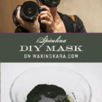 DIY Honey Spirulina Mask Tall Pin
