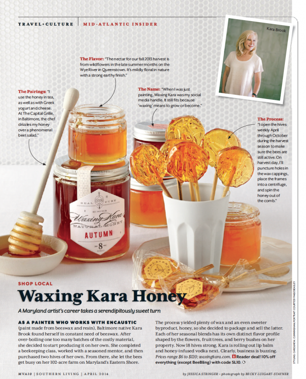 Southern Living April 2014 Feature