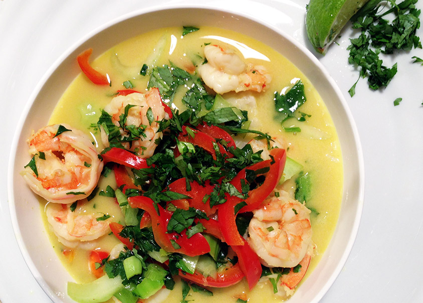 Thai Shrimp Stew