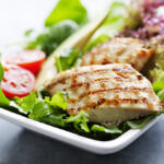 honey grilled chicken salad