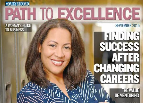 Daily Record Path to Excellence Magazine cover 2015 Sept