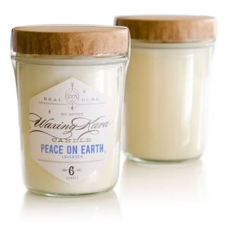peace on earth soy candle