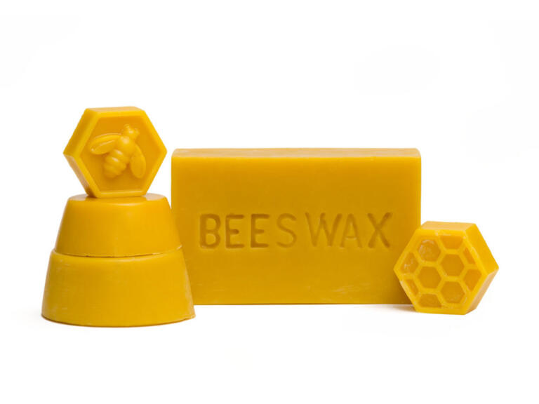 Raw Beeswax from our farm