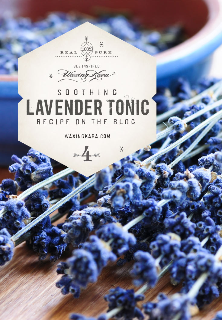 Use this lavender tonic to freshen sheets, or bring that beautiful bright fragrance into any room at any time of the year.