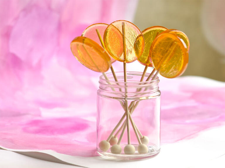 Gourmet Honey Lollipops