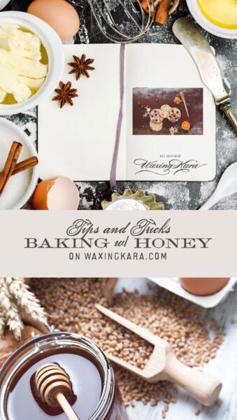 Baking with Honey Tall Pin