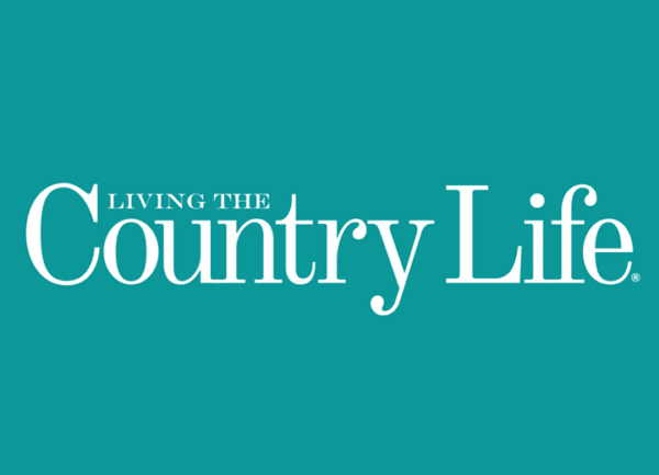 Living the Country Life Magazine logo