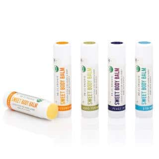 Sweet Body Balm picture of 4 different varieties