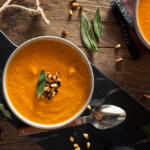 Prefect any time of the year! This easy homemade Carrot Ginger Soup so delicious it's hard to believe how simple it is to make.