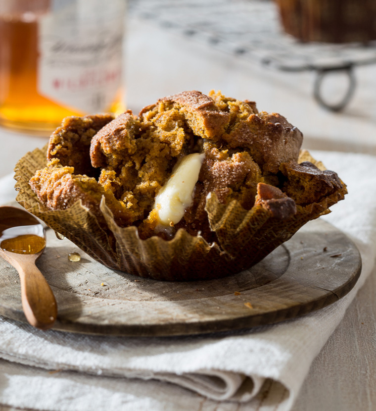 These Paleo Pumpkin Muffins are so easy to make and incredibly delicious! Gluten free, dairy free and sweetened with honey. Serve for breakfast or dessert.