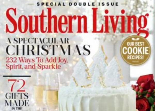 Southern Living Dec 2016 cover