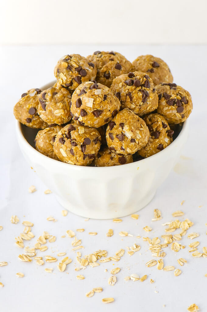 Keep these honey nut balls in your freezer at the ready for the holidays. They are great for some energy just before a workout, or for breakfast.