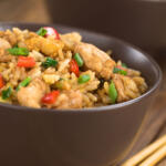 This Szechwan Chicken Stir Fry is made with Eastern Shore Honey. It's delicious and easy to make.