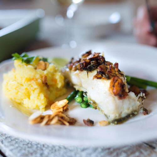 A fish dish preparation that's easy to make and delicious.