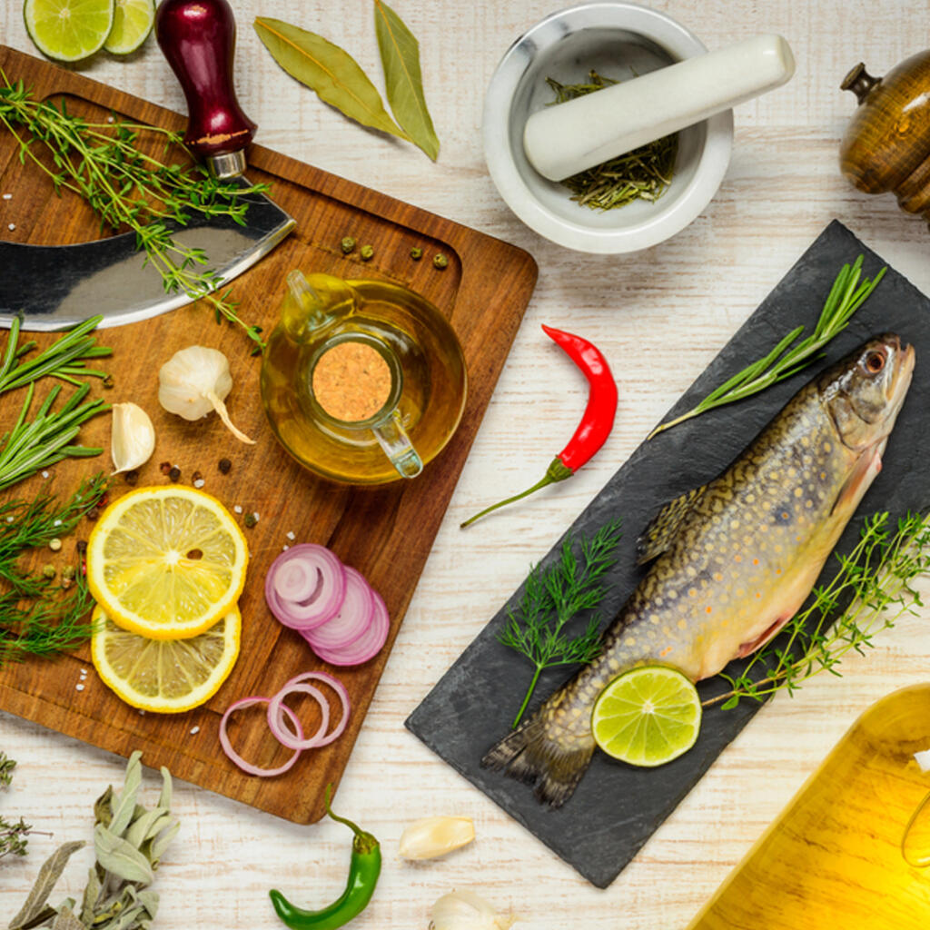 A Bee Inspired fish preparation that's easy to make and delicious.