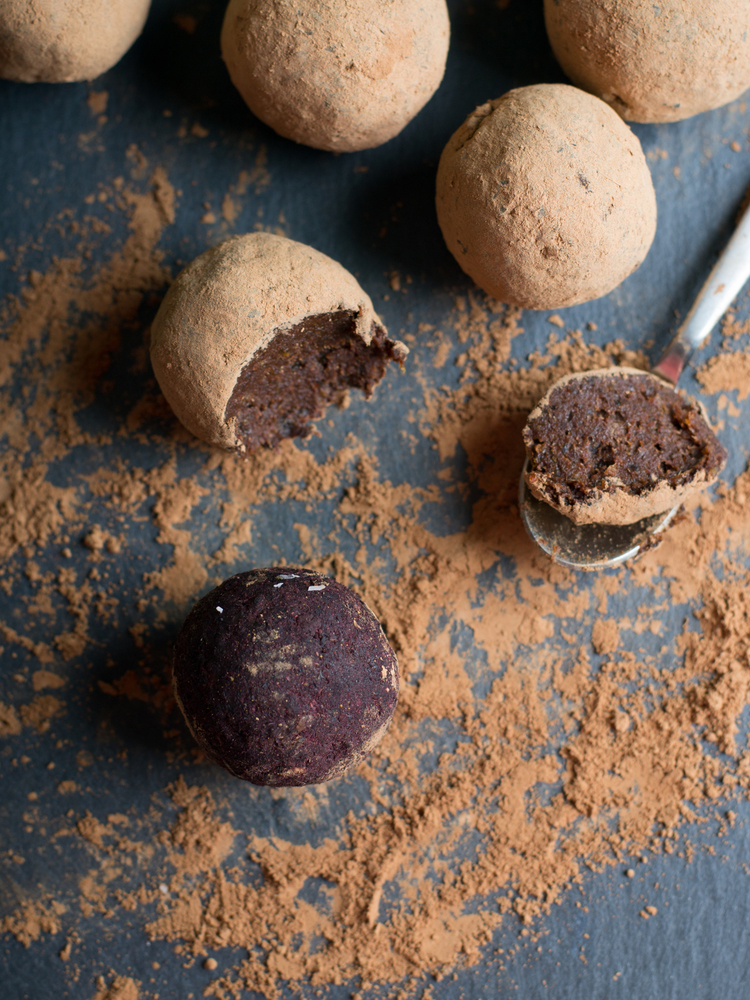 These cocoa honey truffles take about 30 minutes to make. Who knew these irresistible, melt-in-your-mouth rich chocolates were so easy to make?