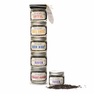 Our Tea Tower is a collection of our favorite organic, hand-blended loose leaf teas.
