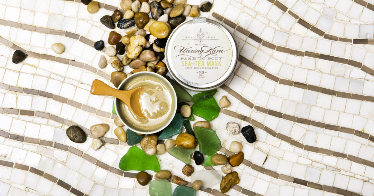 Sea+Tea Mask mixed with mixer or your choice for optimum results.