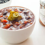 Spicy Vegetarian Chili with Beer