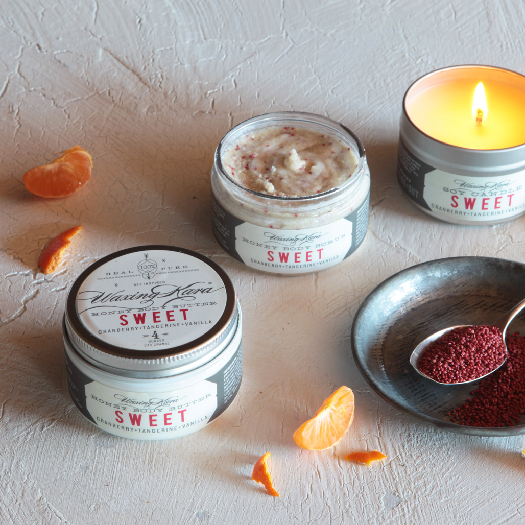 Sweet Scrub Butter and Soy Candle
