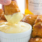Honey Soft Pretzel Bites with Honey Mustard Sauce