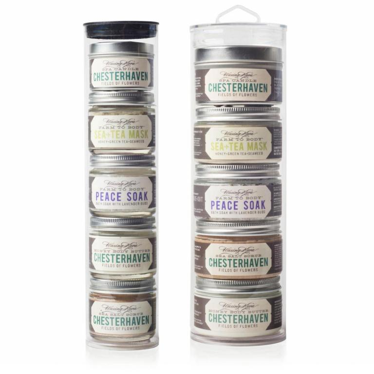 Chesterhaven Spa Tower in 2oz and 4oz sizes