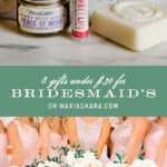 8 bridesmaid's gifts under $30 tall pin