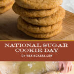 National Sugar Cookie Day Tall Pin