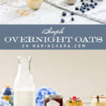 Simple overnight oats tall pin