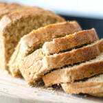 Beer bread made with honey great for use in fall recipes