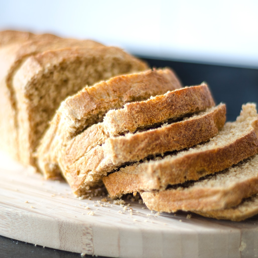 Beer bread made with honey