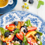 Fruit and Spinach Salad for Traditional Easter Dinner
