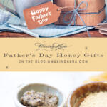 Fathers Day Honey Gifts Pinterest Image