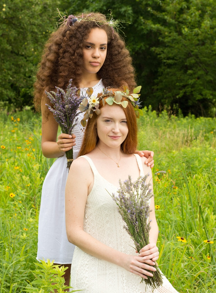 Meet Morgan and Kaylin, two of our lovely models who worked with us this summer. International Women's Day