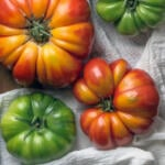 Heirloom tomatoes are perfect for summer salads and sandwiches