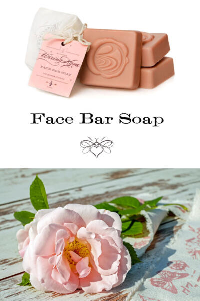 Face Bar Soap tall pin