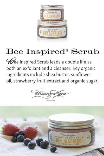 Bee Inspired Scrub Tall Pin