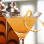 Our Blossoms and Bourbon Cocktail is made with fresh citrus juices and a drizzle of honey