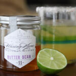 Skinny Margarita made with eastern shore honey and citrus juice