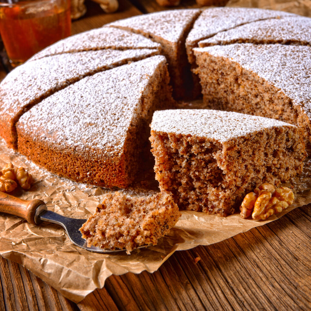 Gingerbread Cake Recipe made with Honey