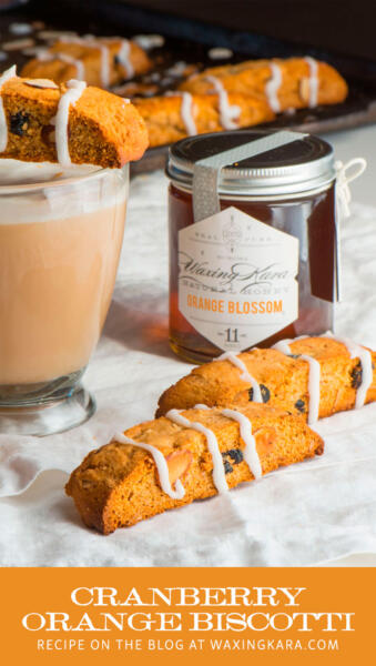 Cranberry Orange Biscotti pin